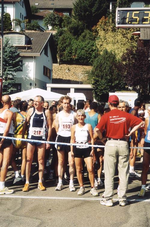 Damen Lauf SV Jungingen